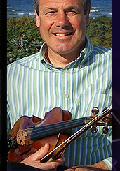 Ian Hardie, Scottish Fiddle Musician in the Highlands of Scotland